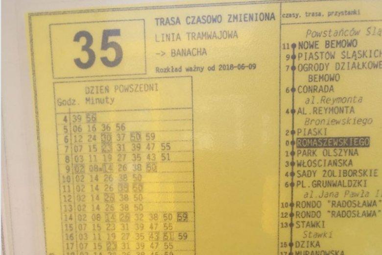 Jak często jeżdżą tramwaje niskopodłogowe w Warszawie na Bielanach?