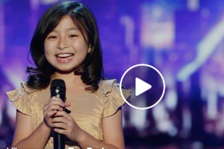 Genialny głos Celine Tam.