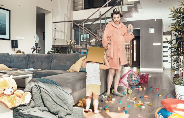 12 sposobów na opanowanie chaosu w domu.