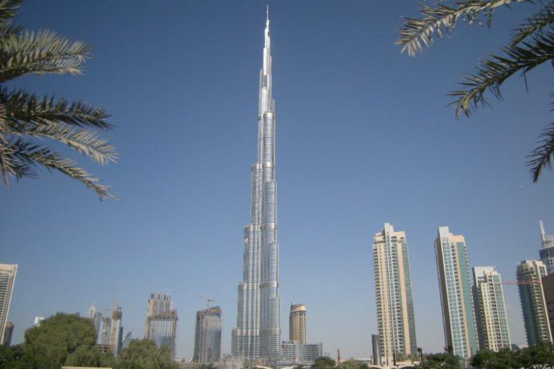 Mierzący 829 m Burj Khalifa to najwyższy wieżowiec na świecie