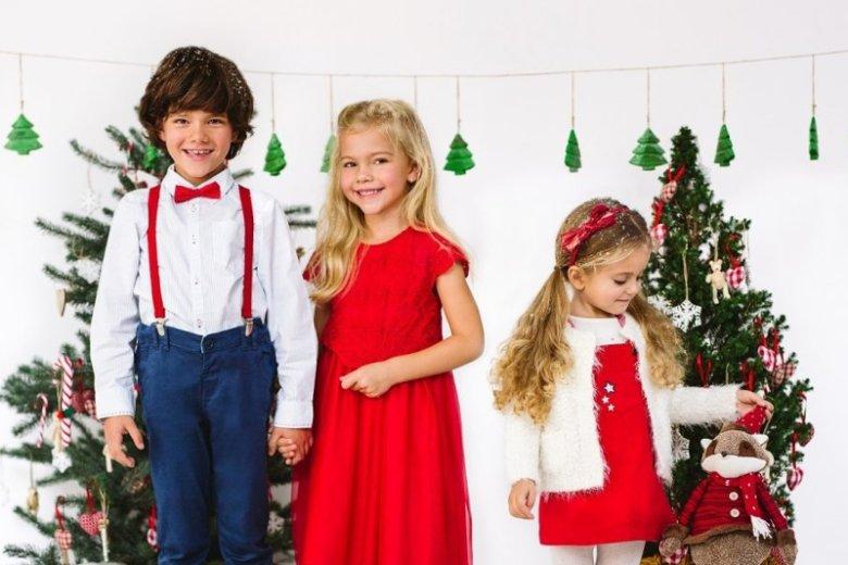 Świąteczna sesja fotograficzna marki odzieżowej 5.10.15. podpowie, jak ubrać dzieci na wigilijny wieczór
