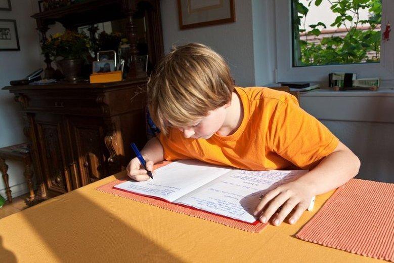 Zmęczone dzieci często udają choroby