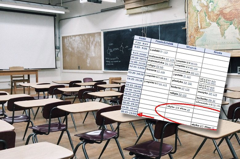 Ten plan lekcji stał się już viralem
