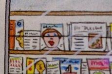 Wizerunek gołej kobiety w książeczce dla dzieci.