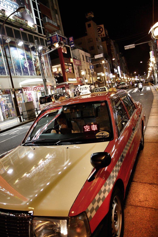 Taksówka w Tokio