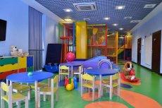 Tak wygląda wnętrze miejsc dla dzieci w Hotelu Czarny Potok.