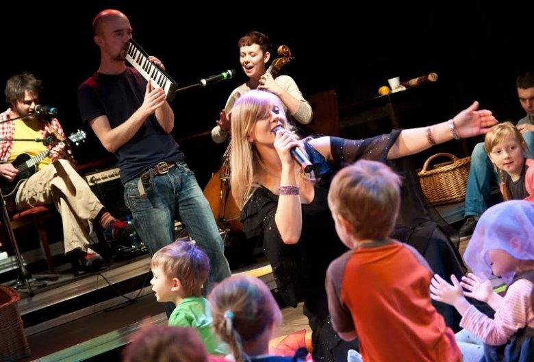 Takie sceny można zobaczyć w czasie spektakli Teatru Małego Widza.