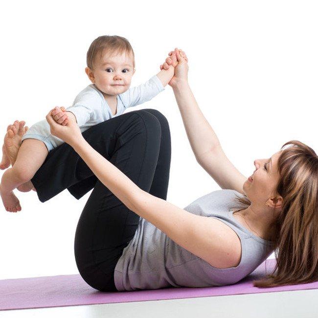Ćwiczenia matki z dzieckiem