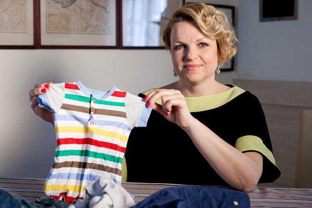 "Katarzyna Bosacka na planie programu TVN Style ""O Matko!"", sobota 17:00."