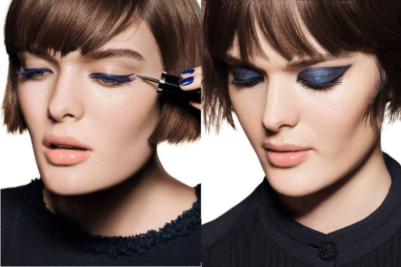 Zdjęcia z kampanii makijażu Blue Rythm 2015 Chanel