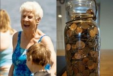 """""""Nana, kiedy trafisz do nieba, przyślij mi mnóstwo monet""""."""