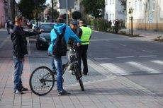 Za co mandat na rowerze?