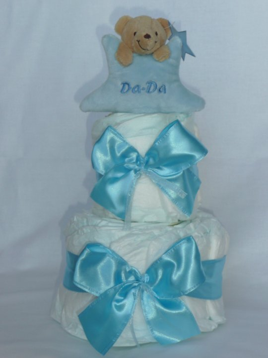 Niejadalne torty pieluszkowe stały się w Polsce punktem obowiązkowym w czasie baby shower