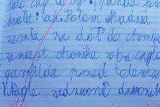 Nauczycielka skrytykowała opowiadanie 10-latka, którym zachwycili się internauci i... Sylwia Chutnik