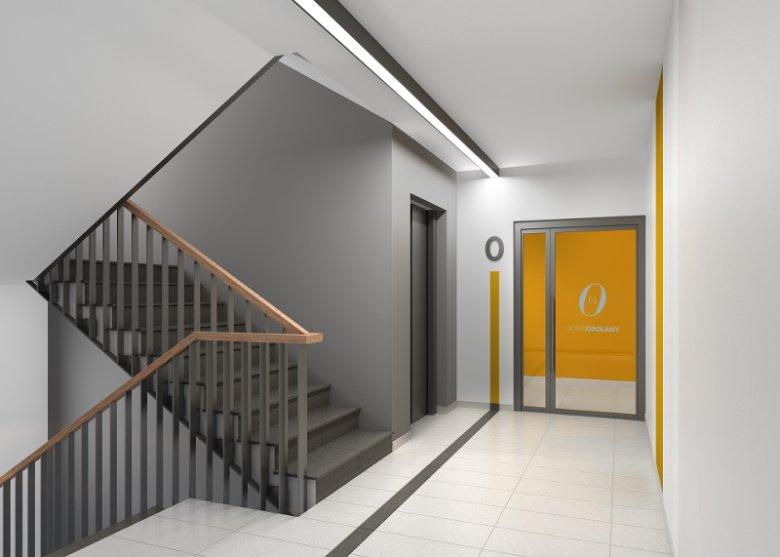 Projekt przykładowej klatki schodowej na Nowych Odolanach