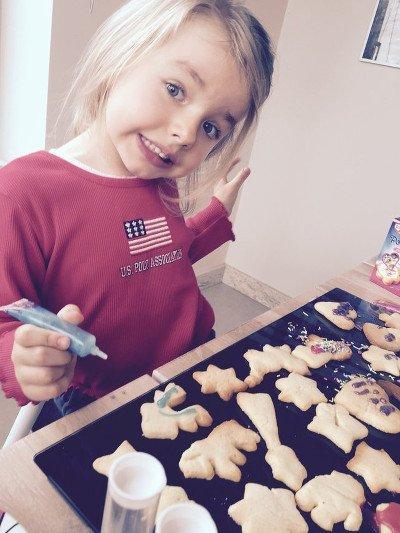 Moja kochana córeczka Lenka też lubi upichcić coś dobrego