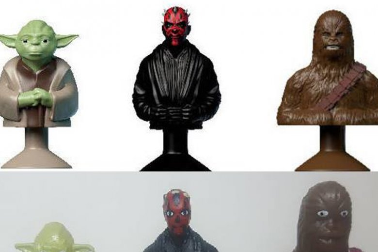 Stikeez Star Wars z Lidla rozbawiły i rozczarowały klientów.