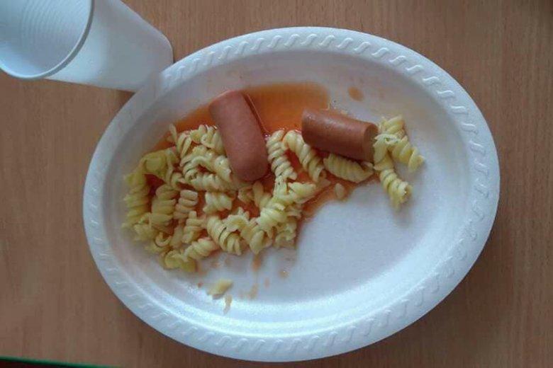 Obiad w wągrowieckim przedszkolu