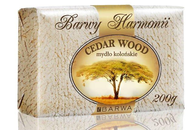 Mydło Kolońskie Cedar Wood Barwa